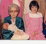 Hazel Reynolds, Elisabeth Crehan & Tabitha Trahan 1988