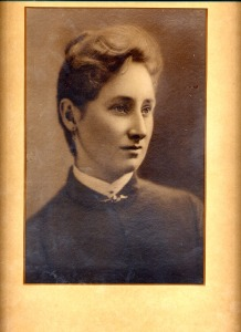 "Ellanora Boelling Graff 1885 ""Wedding Portrait"""