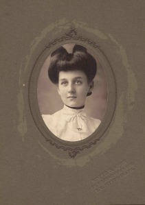Lillian Ann Graff as a young woman