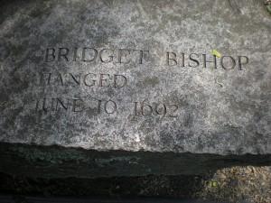 Salem Witch Memorial Stone