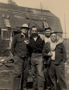 Eddie, Gerald, George & Henry 1938 Canterbury