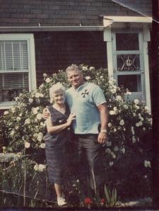 Eddie & his mom Lizzie, 1966, Canterbury