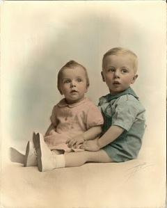 Joan Marie & Robert Edward 1942