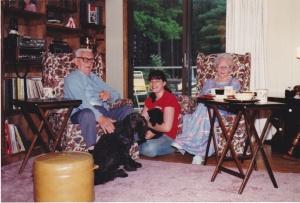 Lester, Anna & Tamara 1980, Pembroke, MA