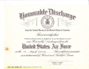 1953 Discharge