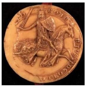The seal of Robert Bruce