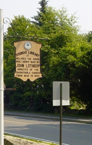Sturgis Library sign