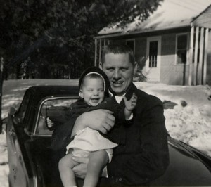 Dad and I 1963