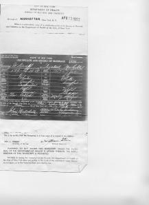 Lizzie & Henry's Wedding Certificate
