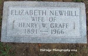 Elizabeth Newhill Graff stone