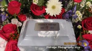 Funeral urn - CHarles Eldridge