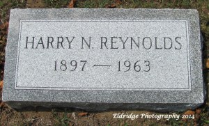 Harry N Reynolds stone