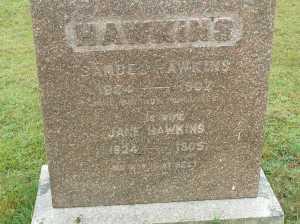 Hawkins Gravestone