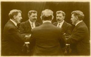 moustachioed mirror man 'white way photo studio 1341 broadway nyc'