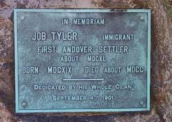 Tyler Memorial - erected 1909