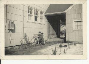 Marc at Cook Hill Road cir. 1956-57