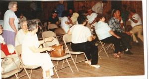 1987 reunion talent show audience