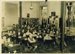 Elizabeth Graff - First Grade, Danielson, CT cir 1949