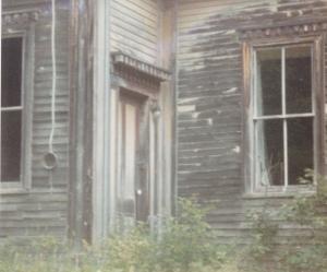 Schoolhouse door - Wesley, Maine
